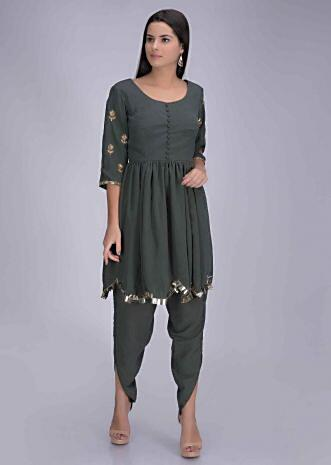 Dhoti Suits Online Shopping | Buy Designer Dhoti Suits