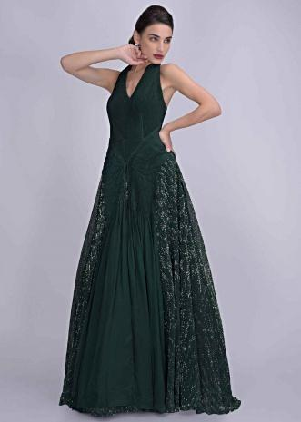 82d077475e Indo Western Gown: Buy Designer Indo Western Gowns for Women Online ...