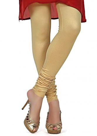 Featuring shimmer champing gold legging only on Kalki