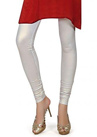 Featuring shimmer silver legging only on Kalki