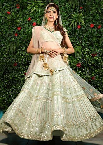 c19f610f459ac Bridal Wedding Lehenga  Buy Embroidered Bridal Lehengas Online ...