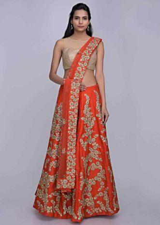 1b13799bff Bridal Wedding Lehenga: Buy Embroidered Bridal Lehengas Online ...