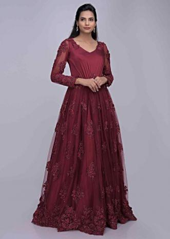 cc00203594 Gowns: Buy Latest Party Wear & Designer Gowns for Women Online ...