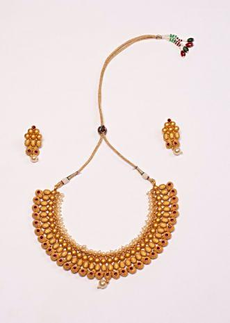Triple layer colar neck traditional necklace