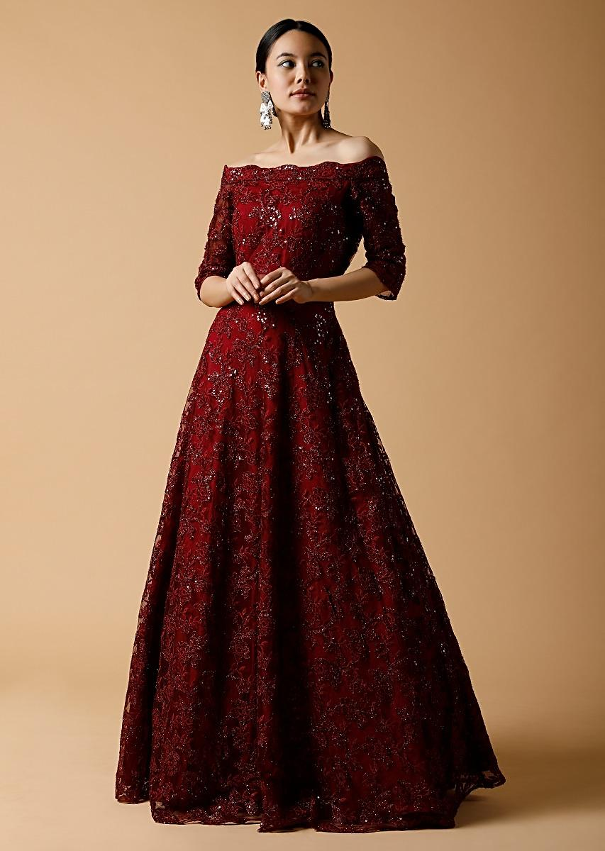 indian gowns,gown party wear reception dresses,reception gown,