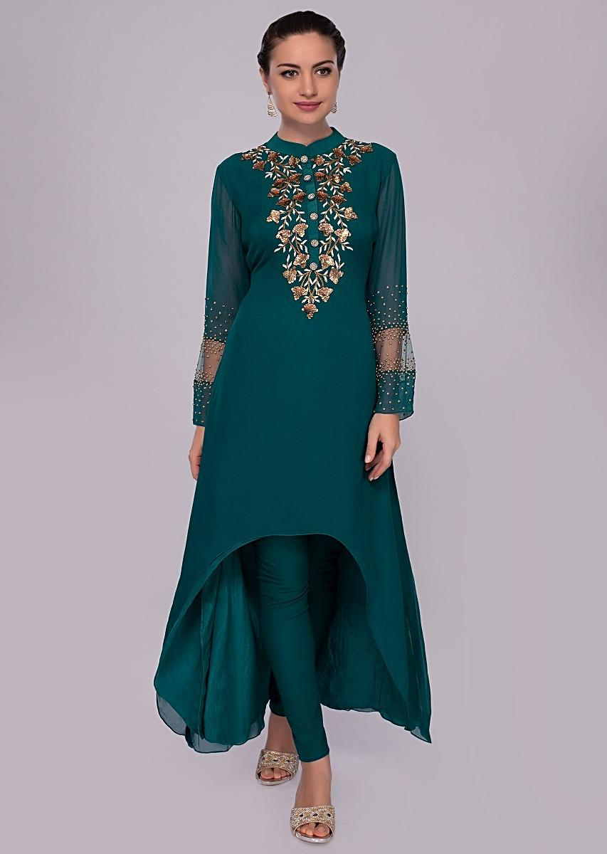 56307f2111 emerald-green-front-short-back-long-crepe-suit-with-georgette -top-layer-only-on-kalki-458342_2__1.jpg