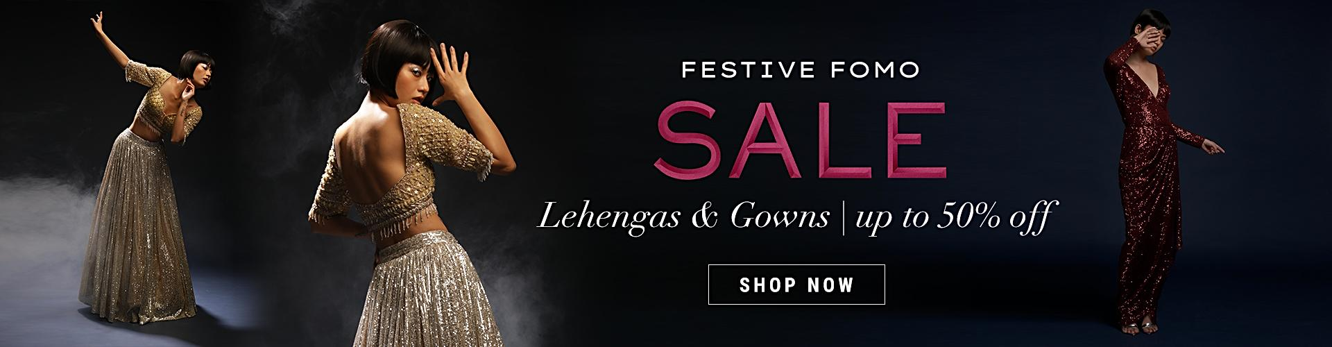 Lehengas and Gowns