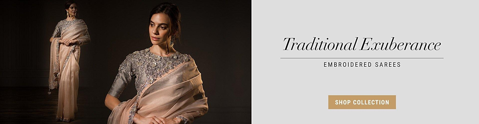 Embroidery Sarees Collection