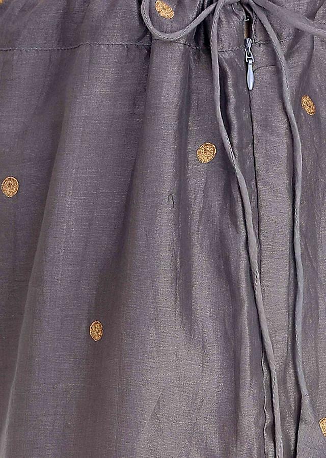 Blend your contemporary chic with an old world charm in these chanderi silk palazzos