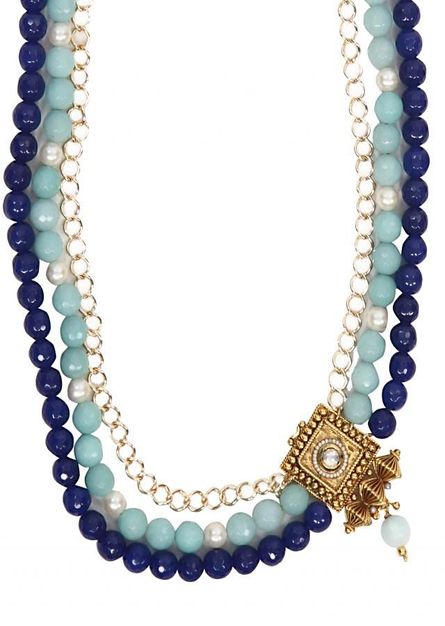Blue shades to have a indo western look only on Kalki