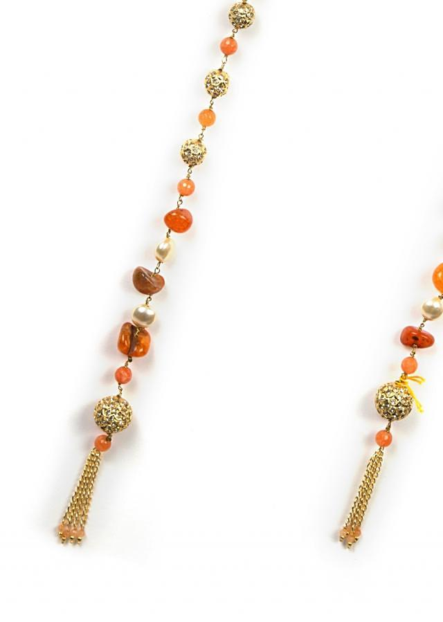 Fancy beaded wrap around necklace only on Kalki