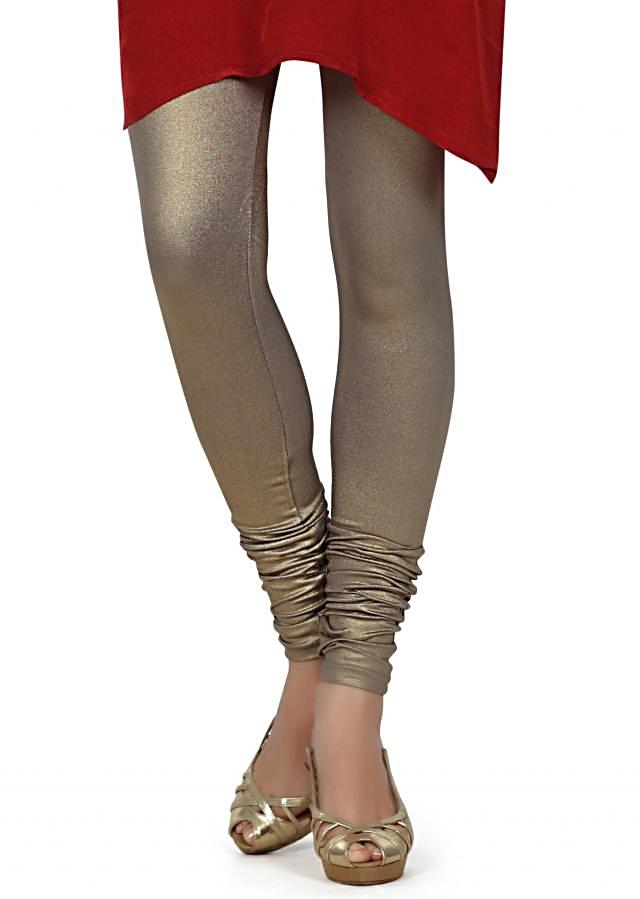 Featuring shimmer grey legging only on Kalki