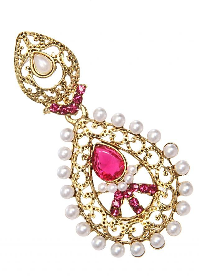 Handmade Trendy Earrings with Colored Stone for Every Occasion only on Kalki