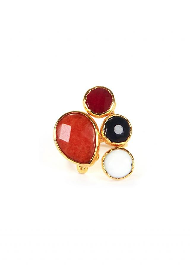 Red and black Fusion Rings only on Kalki