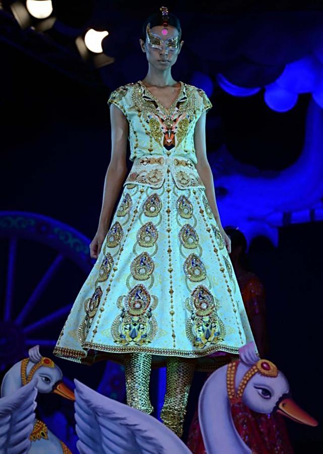 Manish Arora collection at the PCJ Delhi Couture week 2013 MA10