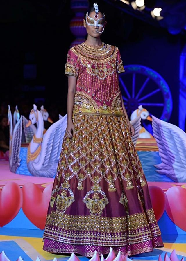 Manish Arora collection at the PCJ Delhi Couture week 2013 MA12