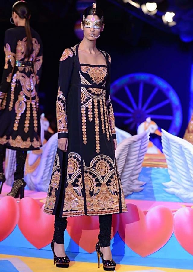 Manish Arora collection at the PCJ Delhi Couture week 2013 MA16