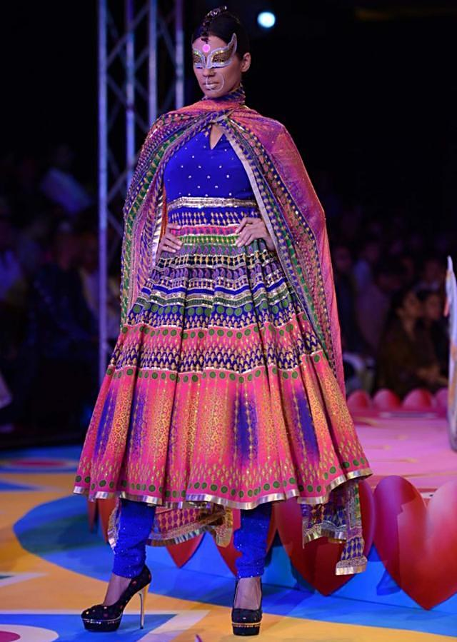 Manish Arora collection at the PCJ Delhi Couture week 2013 MA22