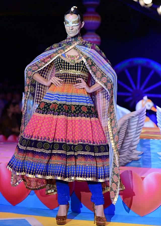 Manish Arora collection at the PCJ Delhi Couture week 2013 MA23
