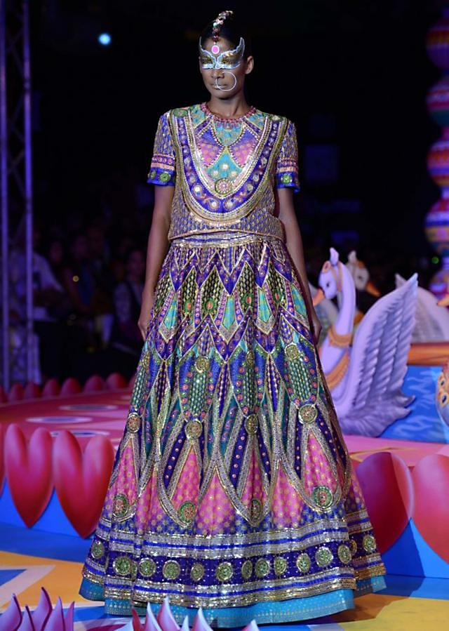 Manish Arora collection at the PCJ Delhi Couture week 2013 MA26