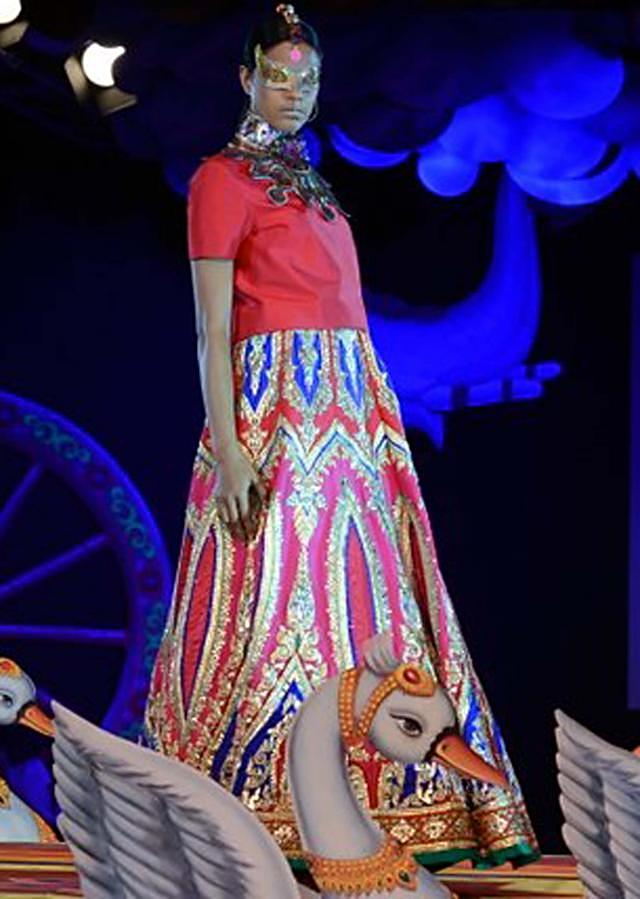 Manish Arora collection at the PCJ Delhi Couture week 2013 MA39