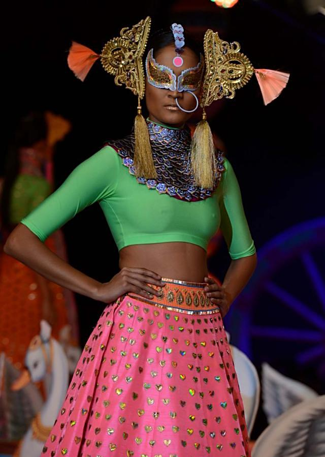 Manish Arora collection at the PCJ Delhi Couture week 2013 MA44