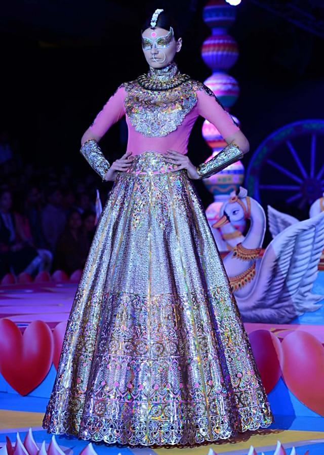 Manish Arora collection at the PCJ Delhi Couture week 2013 MA46