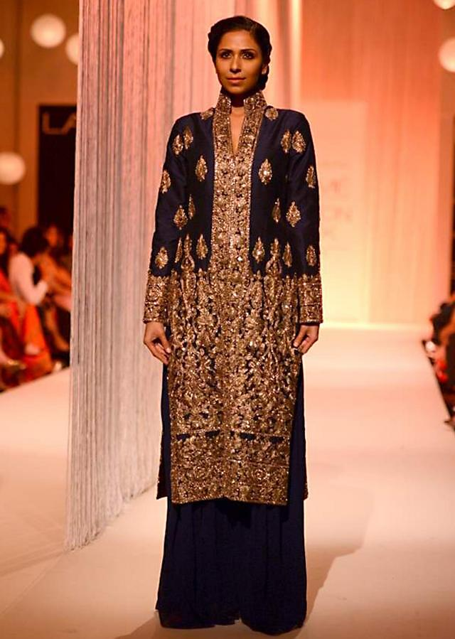 Manish Malhota collecton named Reflection at the lakme Fashion week Winter/Festival 2013 MM 133