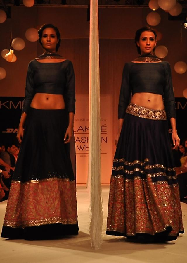 Manish Malhota collecton named Reflection at the lakme Fashion week Winter/Festival 2013 MM 96