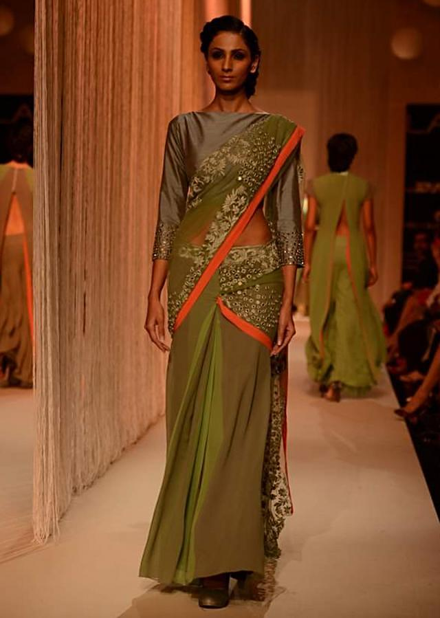 Manish Malhota collecton named Reflection at the lakme Fashion week Winter/Festival 2013 MM 97