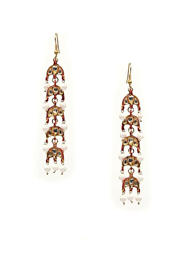 Mina kundan earrings
