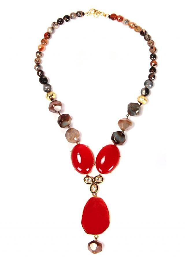 Mix Color Beads With Agate And Kundan only on Kalki