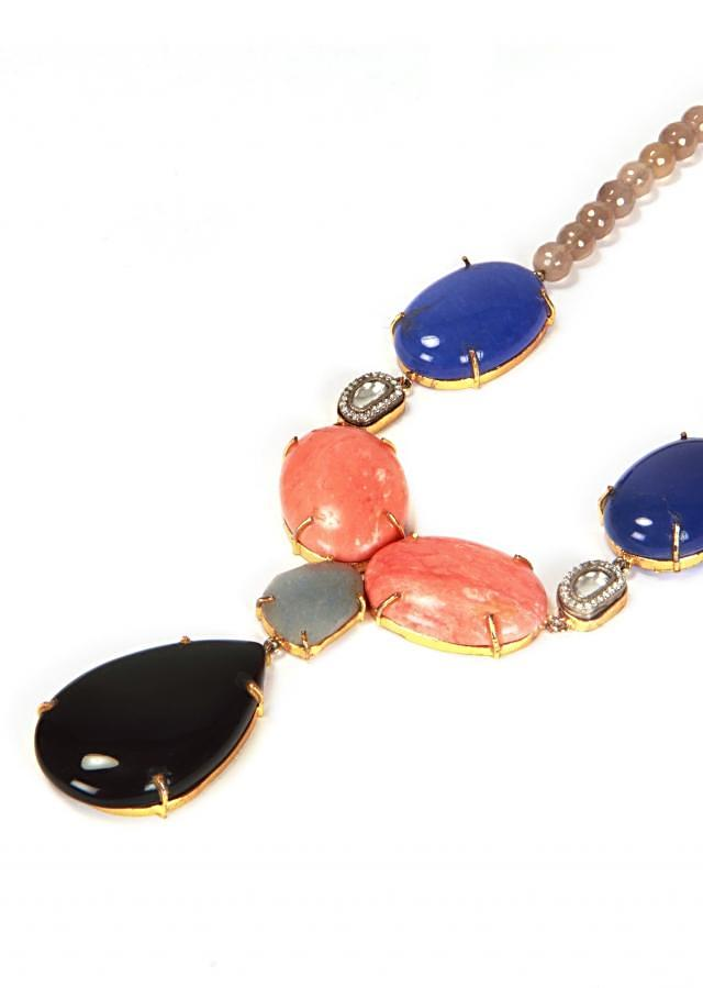 Playing Colors With Agate Necklace only on Kalki