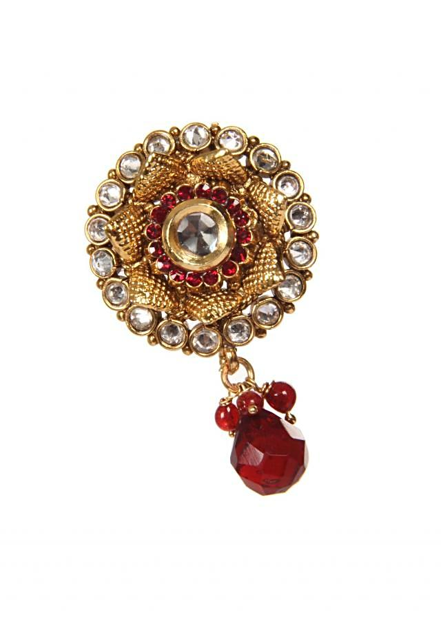 Ethnic Earring With High Micron Gold Plating