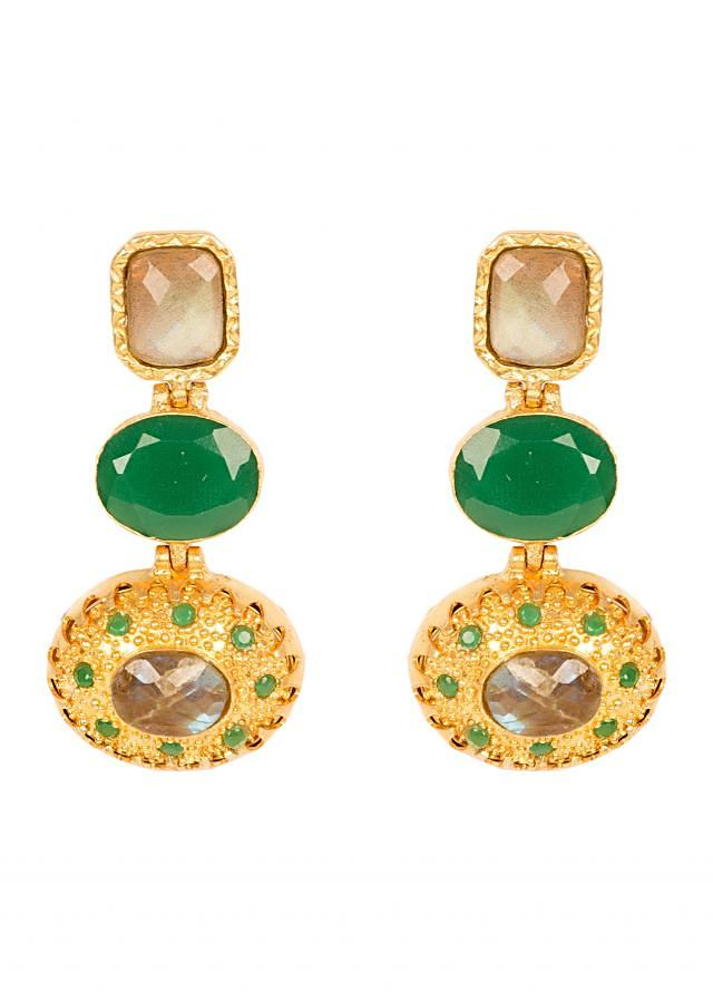 Red And Green Round Danglers