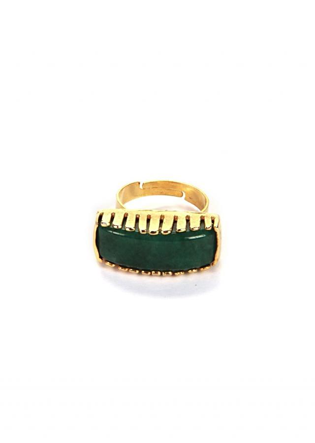 Ring With Emerald Setting only on Kalki