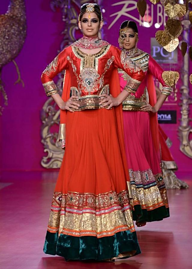 Ritu Beri Collection inspired from the culture of punjab at PCJ Delhi Couture Week 2013 RB02