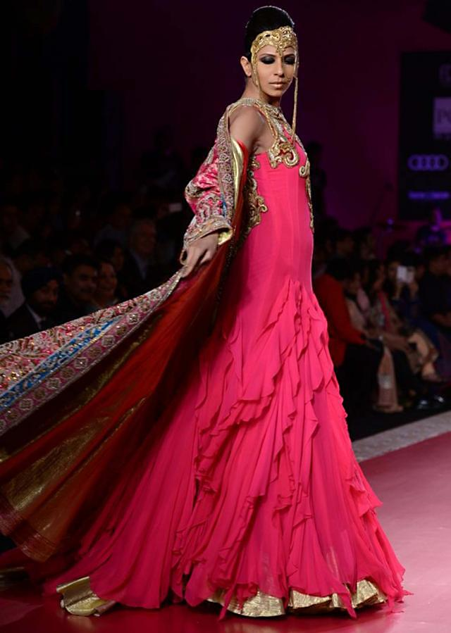 Ritu Beri Collection inspired from the culture of punjab at PCJ Delhi Couture Week 2013 RB06