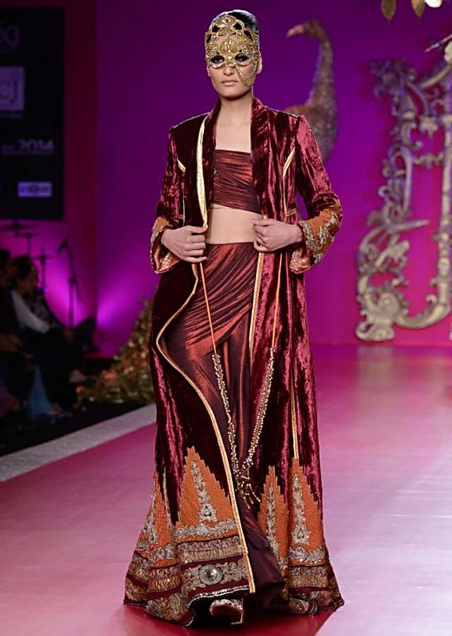 Ritu Beri Collection inspired from the culture of punjab at PCJ Delhi Couture Week 2013 RB09