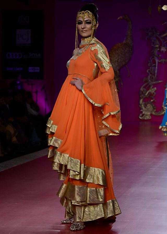 Ritu Beri Collection inspired from the culture of punjab at PCJ Delhi Couture Week 2013 RB14