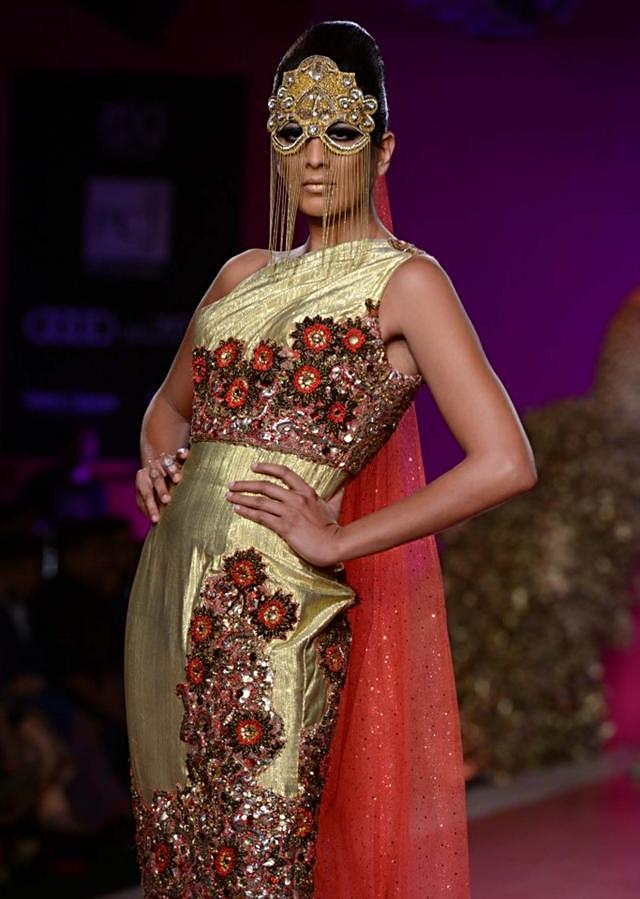 Ritu Beri Collection inspired from the culture of punjab at PCJ Delhi Couture Week 2013 RB24
