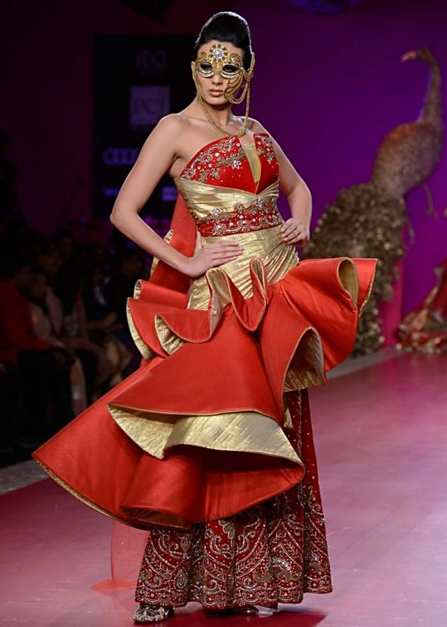 Ritu Beri Collection inspired from the culture of punjab at PCJ Delhi Couture Week 2013 RB28