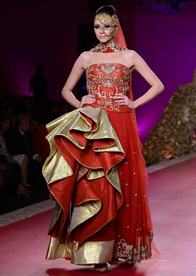 Ritu Beri Collection inspired from the culture of punjab at PCJ Delhi Couture Week 2013 RB29