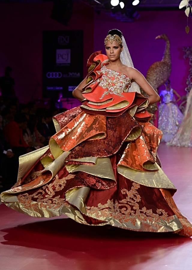 Ritu Beri Collection inspired from the culture of punjab at PCJ Delhi Couture Week 2013 RB36