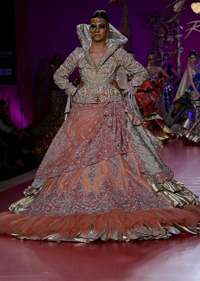 Ritu Beri Collection inspired from the culture of punjab at PCJ Delhi Couture Week 2013 RB40