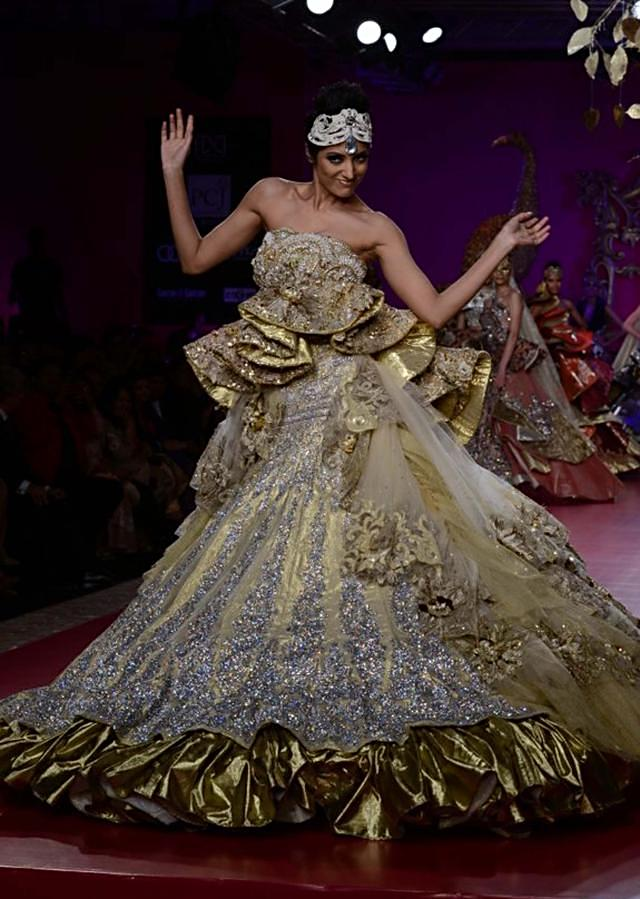 Ritu Beri Collection inspired from the culture of punjab at PCJ Delhi Couture Week 2013 RB42
