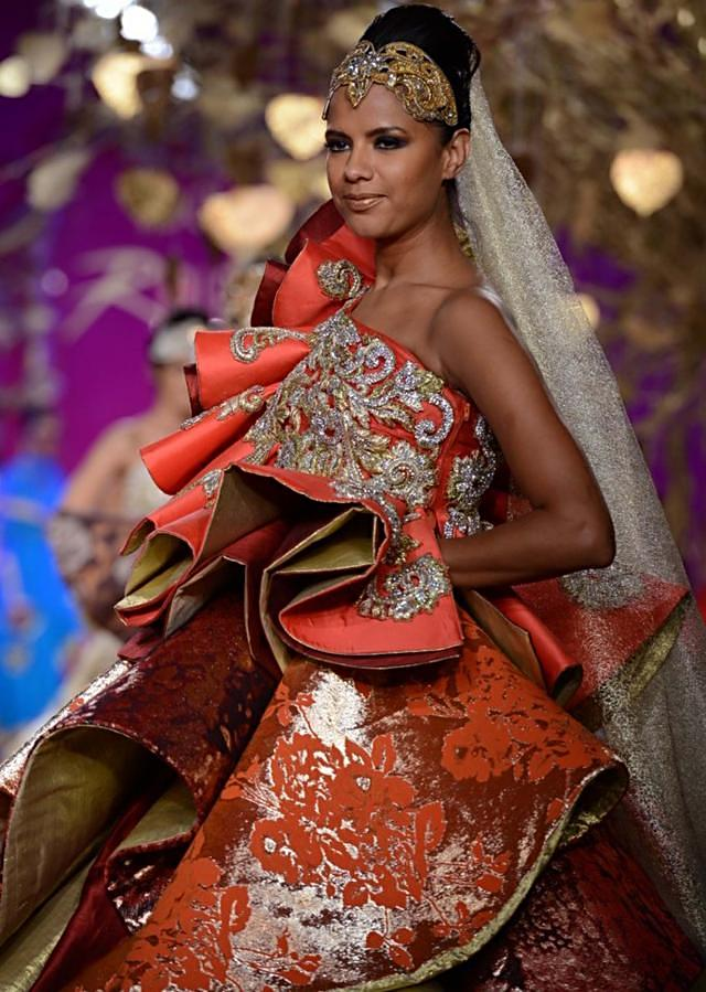 Ritu Beri Collection inspired from the culture of punjab at PCJ Delhi Couture Week 2013 RB43