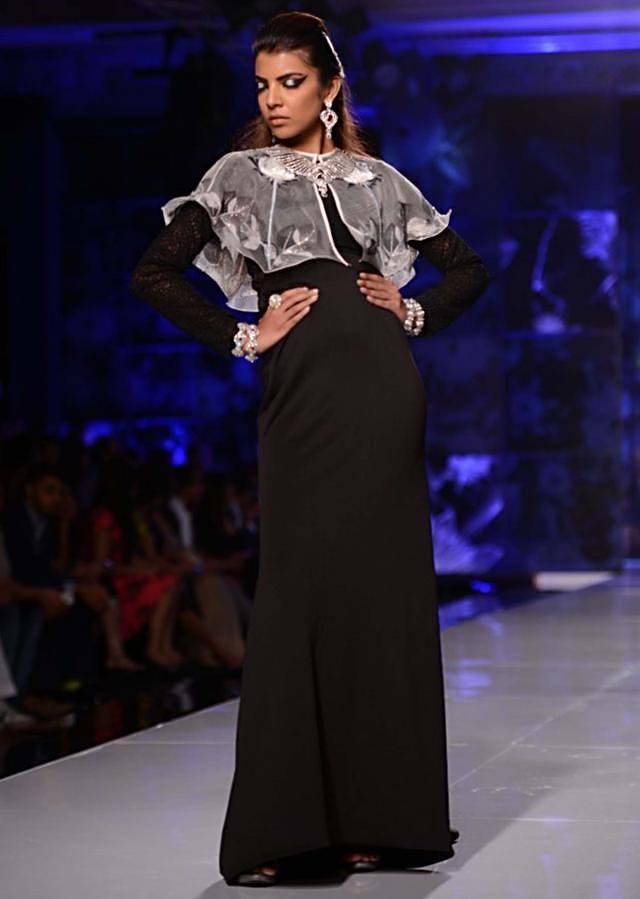 Satya Paul and Masaba Demi Couture collection at the PCJ Delhi Couture Week 2013 S23