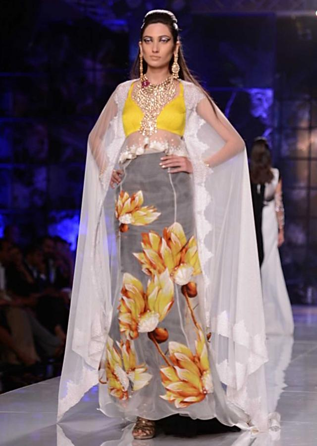 Satya Paul and Masaba Demi Couture collection at the PCJ Delhi Couture Week 2013 S25