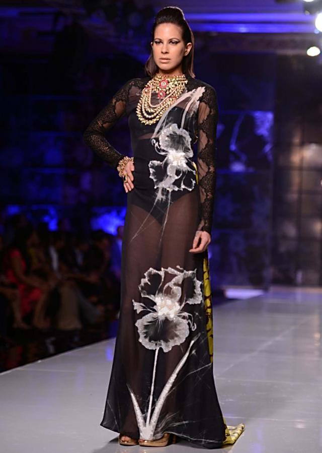 Satya Paul and Masaba Demi Couture collection at the PCJ Delhi Couture Week 2013 S39